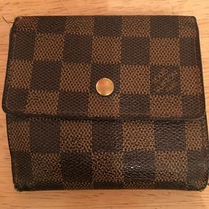 Louis Vuitton Ebene Damier Wallet